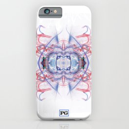 Contemporary Human Flags, white light v1  iPhone Case