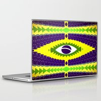 brazil Laptop & iPad Skins featuring BRAZIL CUP by Chrisb Marquez