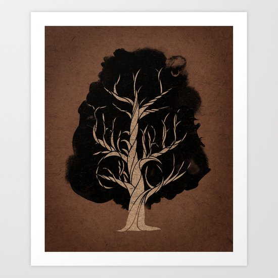 Let The Tree Grow Art Print