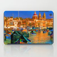 channel iPad Cases featuring The Channel by Robin Curtiss