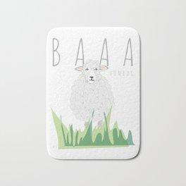 BAAA Humbug Sheep Bath Mat