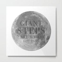 Giant steps | W&L003 Metal Print