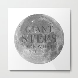 Giant steps | W&L003 Metal Print