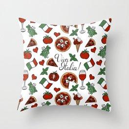 Viva Italia! Throw Pillow