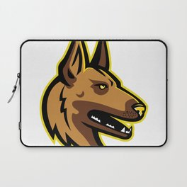 Belgian Malinois Dog Mascot Laptop Sleeve