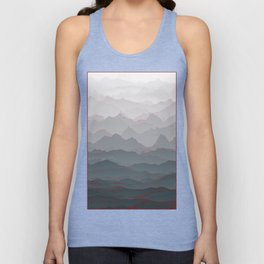 Mountains of Madness I Unisex Tank Top