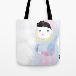 Miss Winter Tote Bag