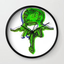 Lumbar Vertebrae Wall Clock