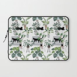 cats in the interior pattern Laptop Sleeve