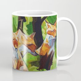 Fox Cub Four Coffee Mug