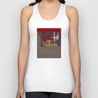 kindle Tank Tops featuring Peeking Redcap by Richard Fay