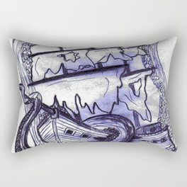 Abandon Ship  Rectangular Pillow