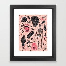 Whole Lotta Horror Framed Art Print