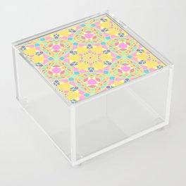 God Geometric name pattern Acrylic Box