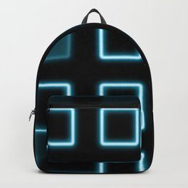 Neon Cube City Backpack