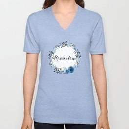 HP Ravenclaw in Watercolor Unisex V-Neck