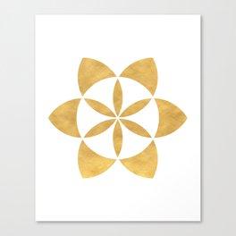 SEED OF LIFE minimal sacred geometry Canvas Print
