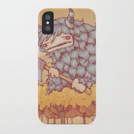 巨大的柴夫 (Great Firewood Husband) iPhone Case
