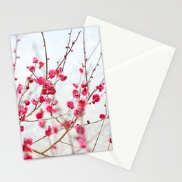 Beautiful Cherry Blossoms at the Imperial Palace in Kyoto, Japan Stationery Cards