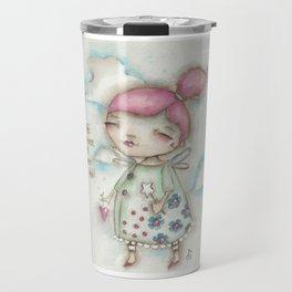 A Hope-Spreading Fairy Travel Mug