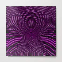 Stunning purple ribbon Metal Print