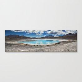 Panoramic Lake Canvas Print