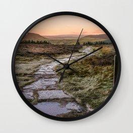 Icing Sugar Wall Clock
