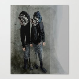 String Theory: Collapsing Wavefunction, Fifth Tangible Canvas Print