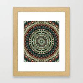 Mandala 585 Framed Art Print