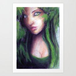 Green Envy Art Print