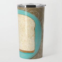 Bread and Coffee Travel Mug