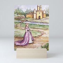 Lavender Princess Mini Art Print