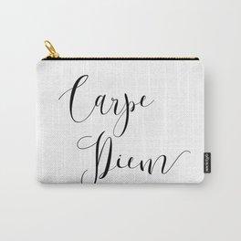 Carpe Diem Minimalist Art Print Carry-All Pouch