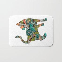 Vegetarian cat Bath Mat