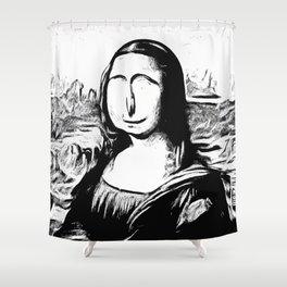 GiocondITS Shower Curtain