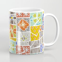 Barcelona tiles Coffee Mug