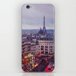 Rainy Paris. iPhone Skin