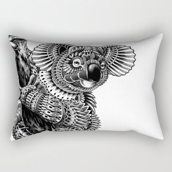 Ornate Koala Rectangular Pillow