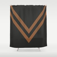 falcon Shower Curtains featuring Falcon by PAAC design