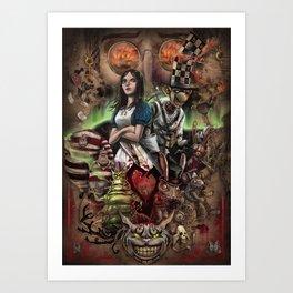 Alice Madness Returns Art Print