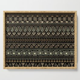 Ethnic tribal Pattern Serving Tray