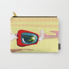 flying fish bowl in the desert Carry-All Pouch