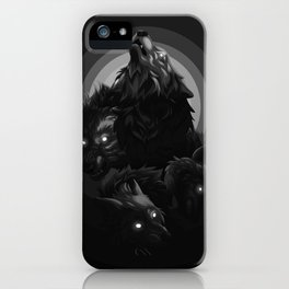 Shadow Wolves iPhone Case