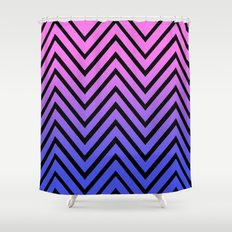 Donata Chevron Shower Curtain