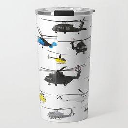 Multiple Helicopters Travel Mug