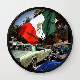 Cinco de Mayo at the Park Wall Clock