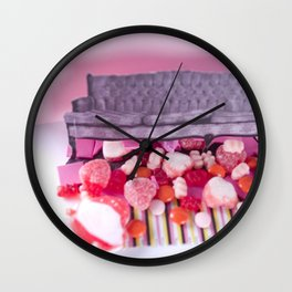 I Love That Emo Couch Wall Clock