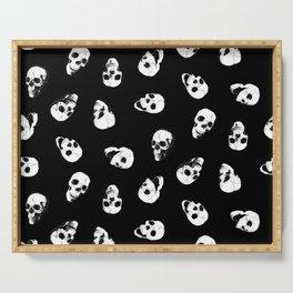 Gossiping Skulls Serving Tray