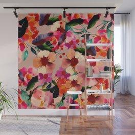 Velvet Blooms Wall Mural