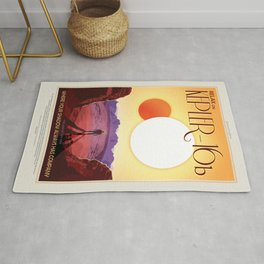 Visions of the Future: Kepler 16b Rug